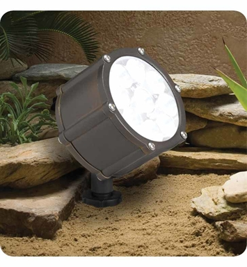Kichler 15751BBR Landscape LED 9-Bulb Low Voltage Accent Light