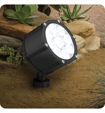 Kichler 15752BKT Landscape LED 9-Bulb Low Voltage Accent Light