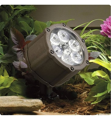 Kichler 15741AZT Landscape LED 6-Bulb Low Voltage Accent Light