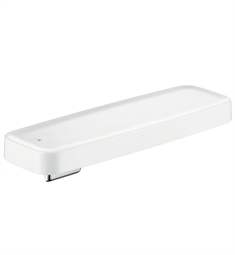 Hansgrohe 42669400 Axor Bouroullec Wall-Mounted Shelf for Shower, Large