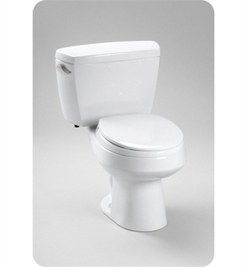 TOTO CST715B Carusoe® Toilet 1.6 GPF, with Bolt Down Lid