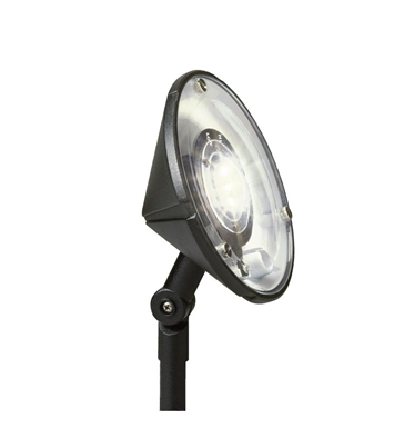 Kichler 15861BKT27 Landscape LED 3-Bulb Wall wash Accent Light
