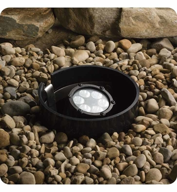 Kichler 15747BKT Landscape LED 6-Bulb In Ground Well Light