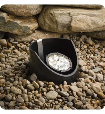 Kichler 15758BKT Landscape LED 9-Bulb In Ground Well Light