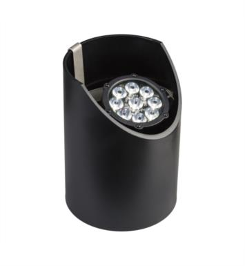 Kichler 15729BKT Landscape LED 10W 12V 9 Light 10 Degree Well Light in Textured Black