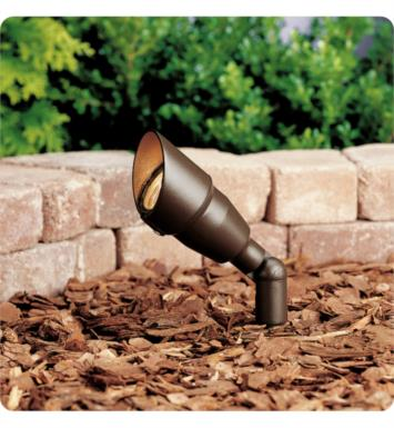 Kichler 15374AZT20L 1 Light 12V Landscape Incandescent Mini Accent Light in Textured Architectural Bronze