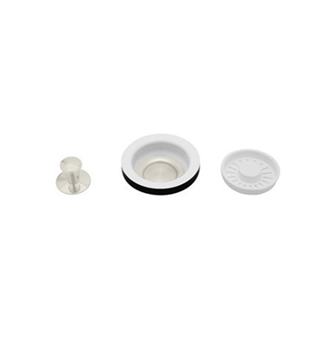 Rohl 739BS Strainer Basket With Remote Pop-up in Biscuit