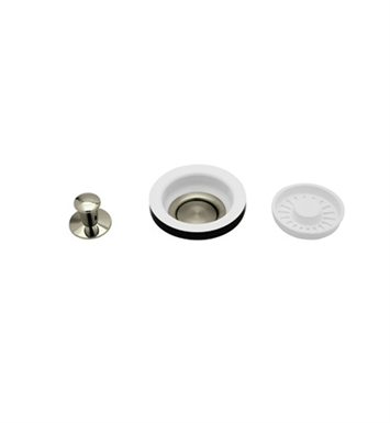 Rohl 739STN Strainer Basket With Remote Pop-up in Satin Nickel