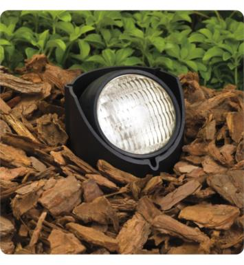 Kichler 15488BK 1 Light 12V Landscape LED In-Ground Well Light in Black