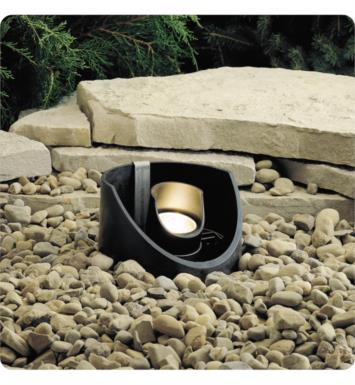 Kichler 15092BKT 1 Light 12V Landscape In-Ground Well Light in Textured Black
