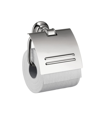 Hansgrohe 42036830 Axor Montreux Toilet Paper Holder with Cover With Finish: Polished Nickel