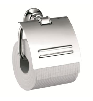 "Hansgrohe 42036820 Axor Montreux 5 1/8"" Toilet Paper Holder With Finish: Brushed Nickel"