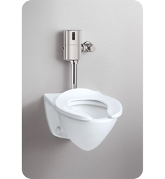 Toto Commercial Flushometer High Efficiency Toilet - 1.28 GPF, Top Inlet Spud