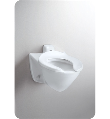 TOTO CT708EVG Commercial Flushometer High Efficiency Toilet - 1.28 GPF, Back Inlet Spud