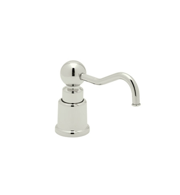 Rohl LS650CPN Country Soap/Lotion Dispenser in Polished Nickel