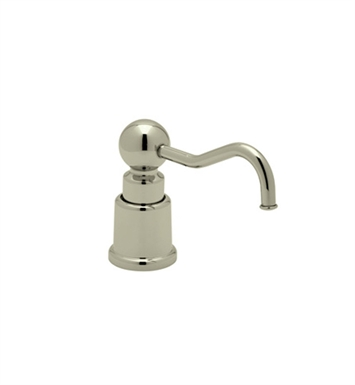 Rohl LS650CSTN Country Soap/Lotion Dispenser in Satin Nickel