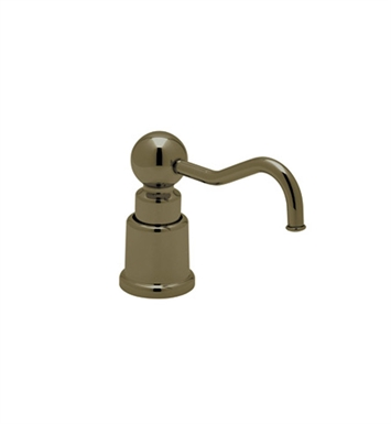 Rohl LS650CTCB Country Soap/Lotion Dispenser in Tuscan Brass