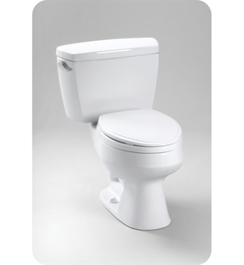 Toto Carusoe® Two Piece Toilet, Bolt Down Lid, 1.6 GPF