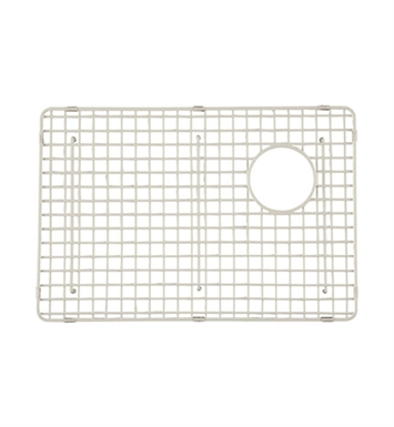 Rohl WSG4019LGBS Wire Sink Grid For RC4019 Kitchen Sink Large Bowl in Biscuit