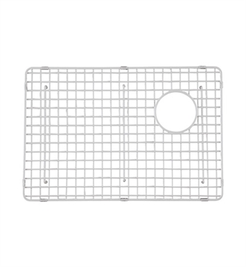 Rohl WSG4019LGWH Wire Sink Grid For RC4019 Kitchen Sink Large Bowl in White