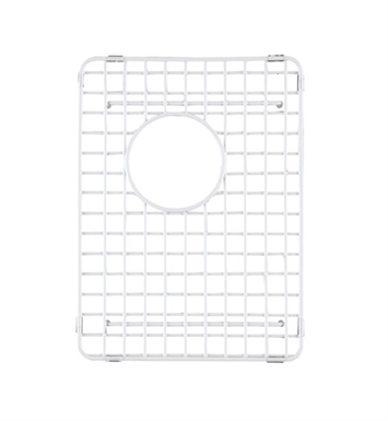 Rohl WSG4019SMWH Wire Sink Grid For RC4019 Kitchen Sink Small Bowl in White