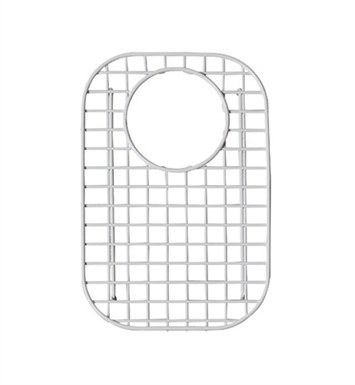 Rohl WSG6327SMWH Wire Sink Grid For 6317, 6327, 6337 and 6339 Kitchen Sink Small Bowl in White