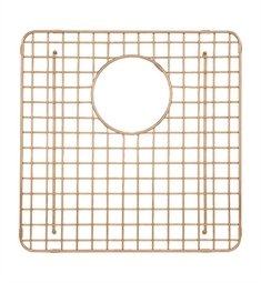 Rohl WSGRSS1515SC Wire Sink Grid For RSS1515 Stainless Steel Sink in Stainless Copper