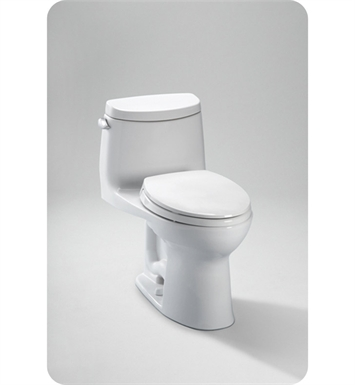 TOTO MS604114CEFG#01 UltraMax II Toilet, 1.28 GPF with SanaGloss® - ADA With Finish: Cotton