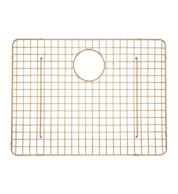 Rohl WSGRSS2418SC Wire Sink Grid For RSS2418 Kitchen Sink in Stainless Copper