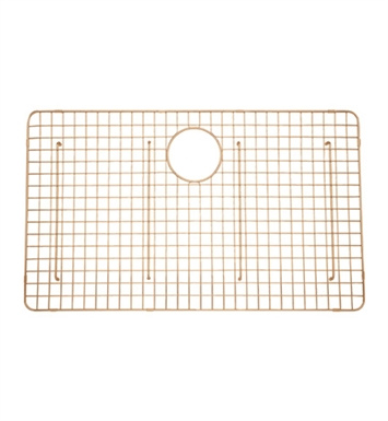 Rohl WSGRSS3018SC Wire Sink Grid For RSS3018 Kitchen Sink in Stainless Copper