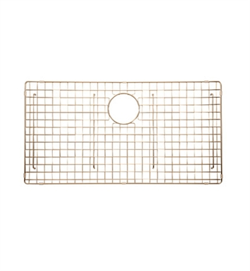 Rohl WSGRSS3616SC Wire Sink Grid For RSS3616 Kitchen Sink in Stainless Copper