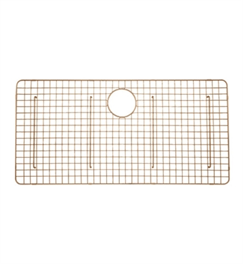 Rohl WSGRSS3618SC Wire Sink Grid For RSS3618 Kitchen Sink in Stainless Copper