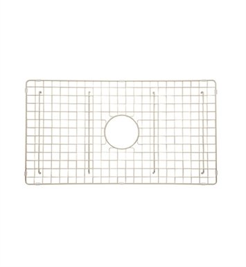 Rohl WSGUM3018BS Wire Sink Grid For UM3018 Kitchen Sink in Biscuit