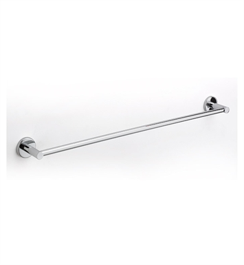 "LaToscana AT03CR 24"" Towel Bar With Finish: Chrome"