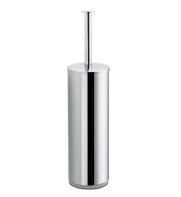 LaToscana AT12PW Atlanta Toilet Brush With Finish: Brushed Nickel