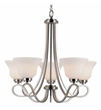 Trans Globe 9555 Infinity 5 Light Chandelier