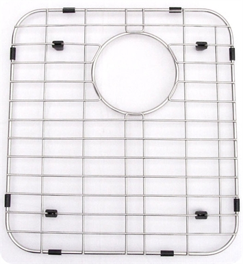 ALFI Brand GR512L Left Side Solid Stainless Steel Kitchen Sink Grid
