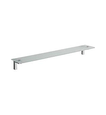 LaToscana SQ10PW Square Vanity Shelf With Finish: Brushed Nickel