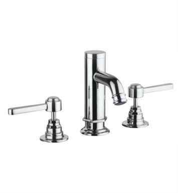 "LaToscana 88214 Firenze 6 3/8"" Double Handle Widespread/Deck Mounted Bathroom Sink Faucet with Pop-Up Drain"