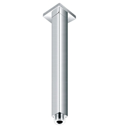 "ALFI Brand AB8SC 8"" Square Ceiling Mounted Chrome Shower Arm for Rain Shower Heads"