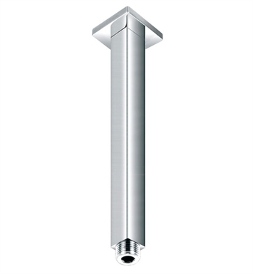 "ALFI Brand AB8SC-PC [DISCONTINUED] ALFI Brand AB8SC 8"" Square Ceiling Mounted Chrome Shower Arm for Rain Shower Heads"