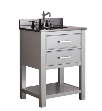 "Avanity BROOKS-V24-CG Brooks 24"" Bathroom Vanity in Chilled Gray finish"