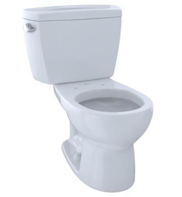 TOTO CST743S#12 Drake Two-Piece Round Toilet with 1.6 GPF Single Flush With Finish: Sedona Beige