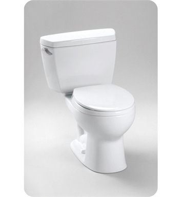 TOTO CST743SB#51 Drake® Toilet 1.6 GPF, with Bolt Down Lid With Finish: Ebony <strong>(SPECIAL ORDER. USUALLY SHIPS IN 3-4 WEEKS)</strong>