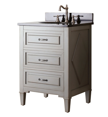 "Avanity KELLY-V24-GB Kelly 24"" Bathroom Vanity in Grayish Blue finish"