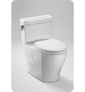 TOTO MS624214CEFG#01 Legato™ One-Piece High-Efficiency Toilet, 1.28GPF With Finish: Cotton