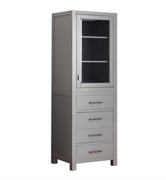 Avanity MODERO-LT24-CG Modero 24 in Linen Tower in Chilled Gray finish