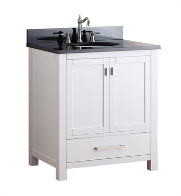 "Avanity MODERO-V30-WT Modero 30"" Bathroom Vanity in White finish"