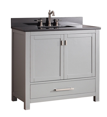 "Avanity MODERO-V36-CG Modero 36"" Bathroom Vanity in Chilled Gray finish"