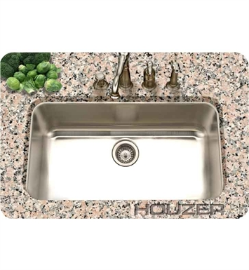 Houzer PNL-3600-1 Undermount Large Single Bowl